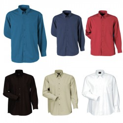 Men's Woven Shirt (Long Sleeve)