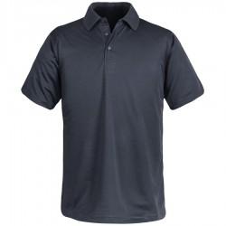 S/S Rib Knit Collar Polo