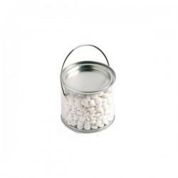 Medium PVC Bucket Filled with Mints 400G (Chewy Mints)
