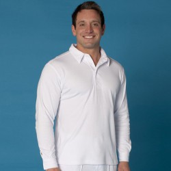 Podium L/S Cricket Polo