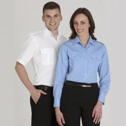 Mens Eppaulette Shirt-L/S