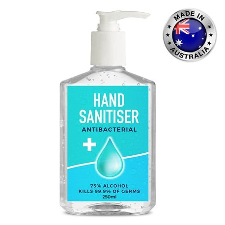 250ml -75% Antibacterial Hand Sanitiser Gel