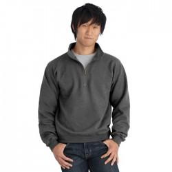 Heavy Blend Vintage Classic Adult 1/4 Zip Cadet Collar Sweatshirt