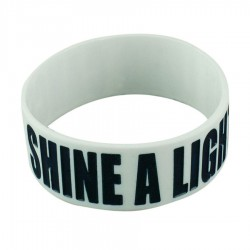 Extra Wide Wristband with Colour Infill