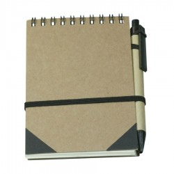 Recycled Notebook with Ball pen