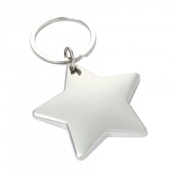 Metal Key Ring Star