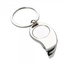 Metal Key Ring Bottle Opener Tapered
