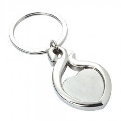Metal Key Ring Heart