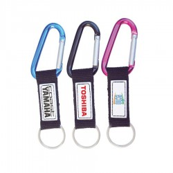 Printed Carabiner Keyring (includes full colour process)