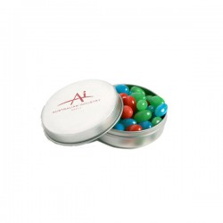 Candle Tin Filled with Mini Jelly Beans 50G (Mixed Colours or Corporate Colours)