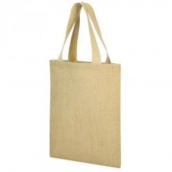 A4 Jute Shopper Bag