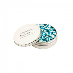 Click Clack Tin Filled with Tini Humbugs 70G