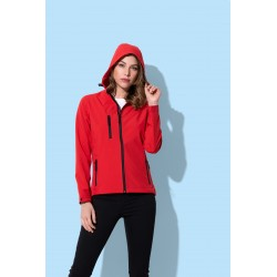 Womens Active Softest Shell Hooded Jacket