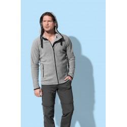 Mens Active Power Fleece Jacket