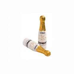 Champagne Bottle Filled with Mints 220G X 2 Stickers (Normal Mints)