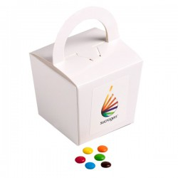 Coloured Noodle Box Filled with M&Ms 100G