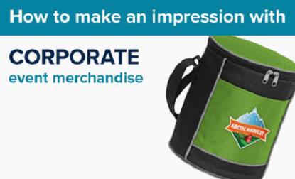 Corporate Event Merchandise